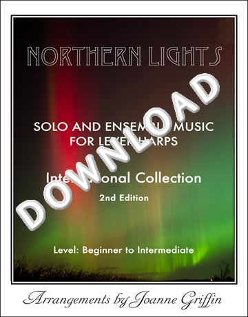 Aupres de ma blonde (Harp 1) - from Northern Lights 2nd Edition: Solo and Ensemble Music - MP3