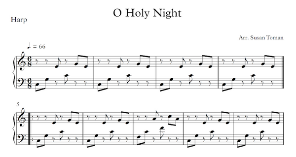 O Holy Night - Parts - Digital Download