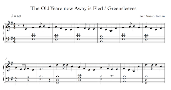 The Old Yeare Now Away Is Fled / Greensleeves Medley - Digital Download