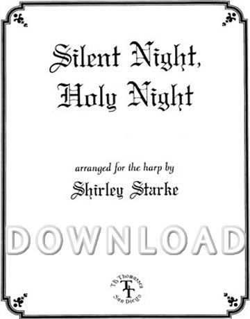 Silent Night (Harp and Voice) - Digital Download