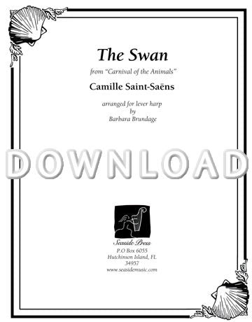"The Swan from ""Carnival of the Animals"" - Digital Download"