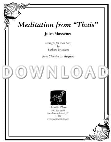 "Meditations from ""Thais"" - Digital Download"