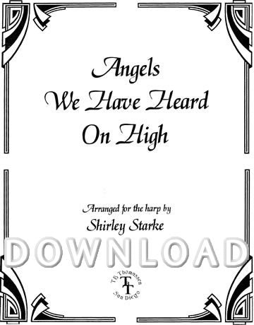 Angels We Have Heard On High - Digital Download