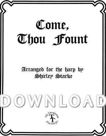 Come Thou Font - Digital Download
