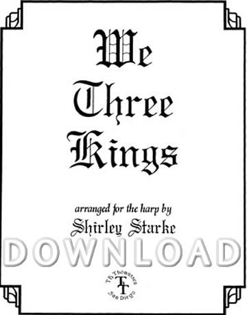We Three Kings - Digital Download