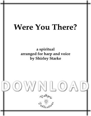 Were you There (Harp and Voice) - Digital Download