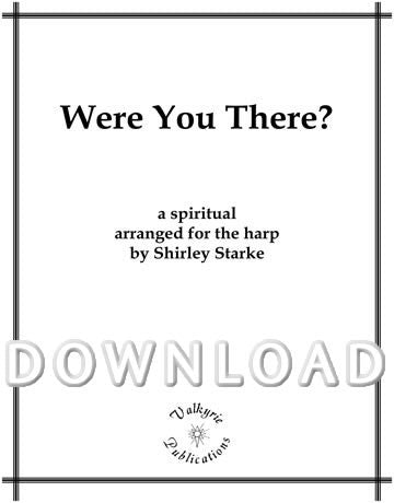 Were you There (Solo harp) - Digital Download