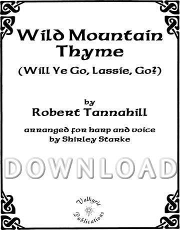 Wild Mountain Thyme - Will Ye Go, Lassie, Go - Digital Download