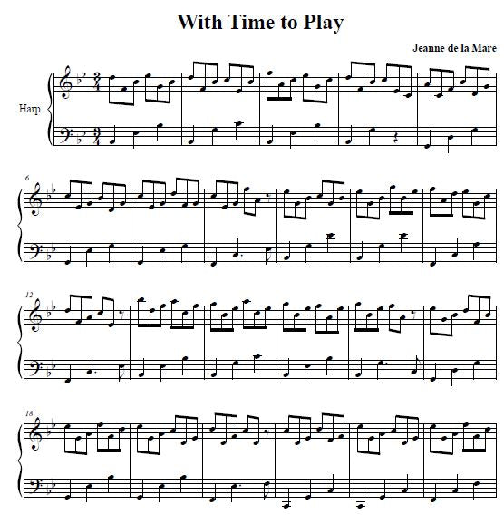 With Time To Play - Digital Download