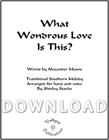 What Wondrous Love is This? - Digital Download