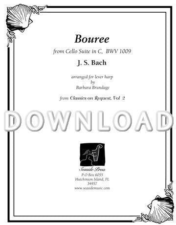 Bourree - Digital Download