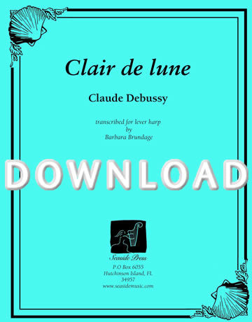 Clair de Lune - Digital Download