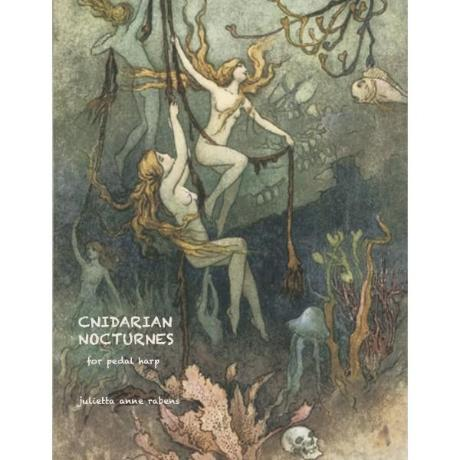 Cnidarian Nocturnes for pedal harp