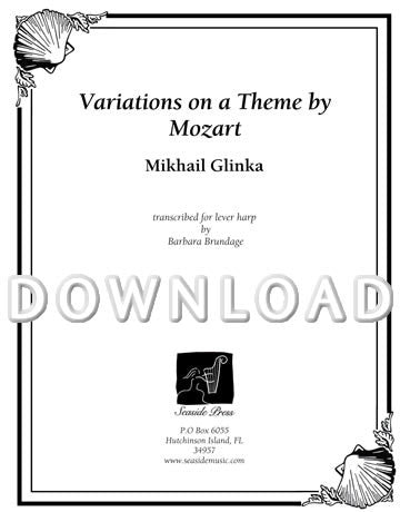 Variations on a Theme by Mozart (Glinka) - Digital Download