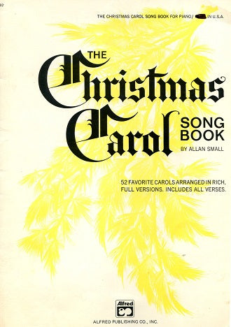 Christmas Carol Song Book