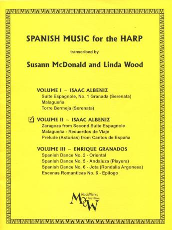 Spanish Music for the harp  Volume II -Bargain Basement Beauty!