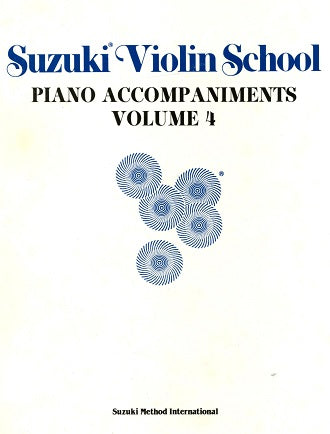 Suzuki Violin School Volume 4:  Piano & C Instrument
