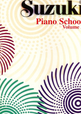 Suzuki Piano School:  Volume 3