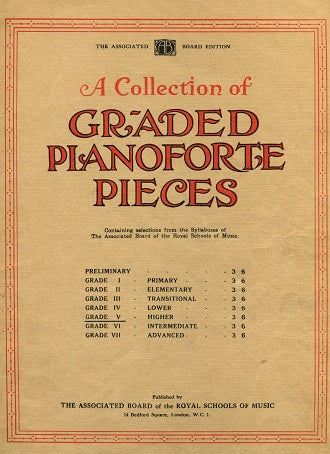 A Collection of Graded Pianoforte Pieces: Grade 5