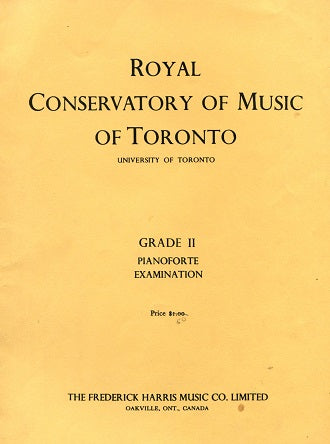 Royal Conservatory of Music: Grade 2