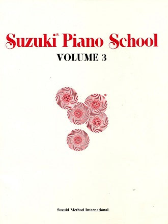 Suzuki Piano School:  Volume 3 (Older Stock)