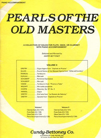 Pearls of the Old Masters: Duets for Piano and C Instrument