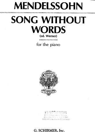 Mendelssohn: Song Without Words