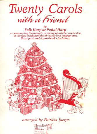 Twenty Carols With A Friend - Bargain Basement Beauty!