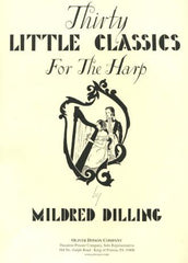 Thirty Little Classics for the Harp -Bargain Basement Beauty