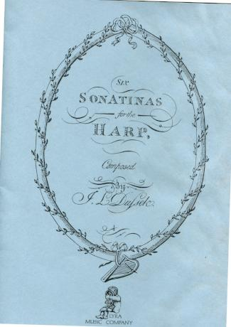 6 Sonatinas for the Harp - Bargain Basement Beauty!
