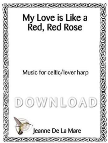 My Love is Like a Red, Red Rose - Digital Download
