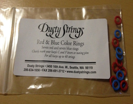 Dusty Strings Lever Markers Color Rings