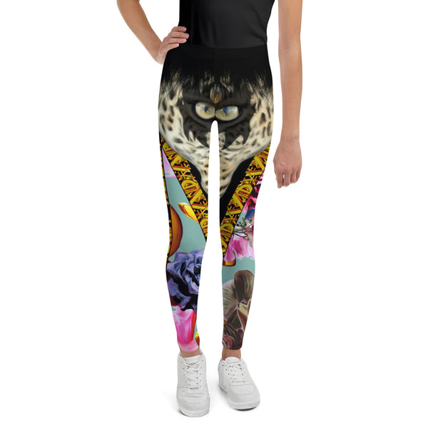 Leopard Youth Leggings