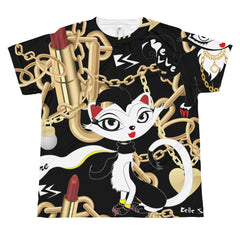 Belle Sauvage Cat All-over youth sublimation T-shirt