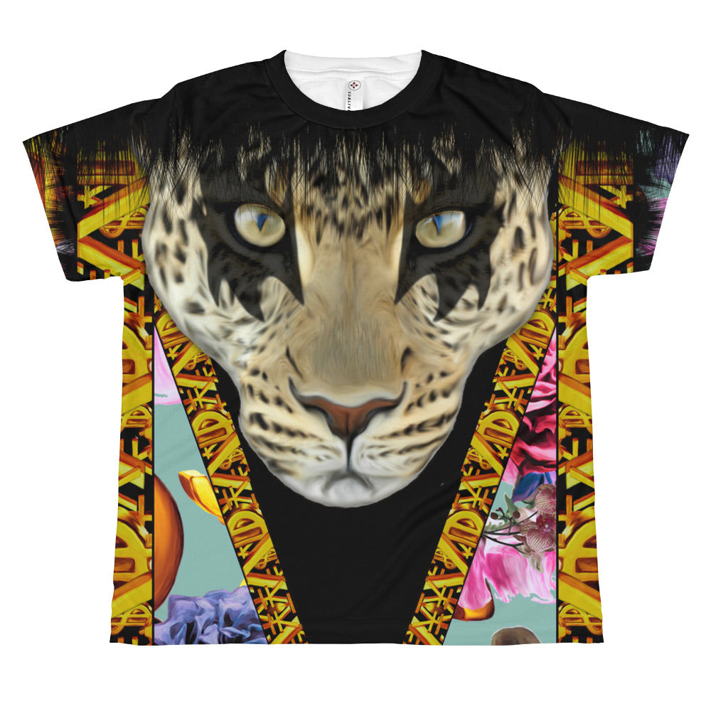 Leopard All-over teenage and youth Fashion T-shirt by Belle Sauvage