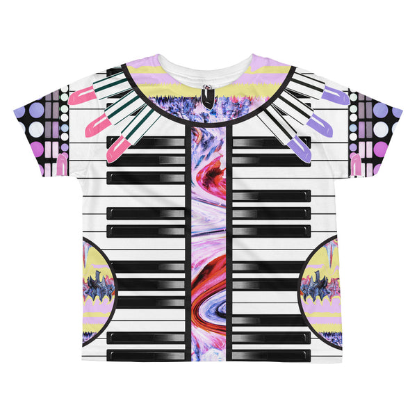 Keyboard All-over kids sublimation T-shirt