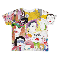 Pop Friends All-over kids fashionT-shirt by Belle Sauvage