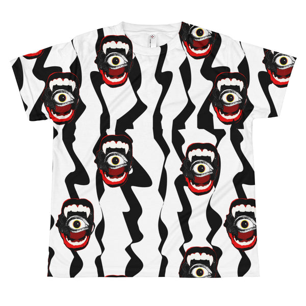 Vamp-eye Eye All-over teenage and youth fashion T-shirt