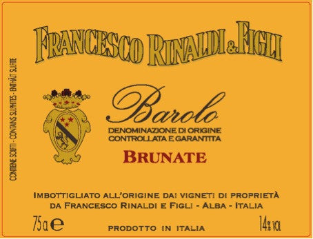 Francesco Rinaldi Barolo Brunate 2011