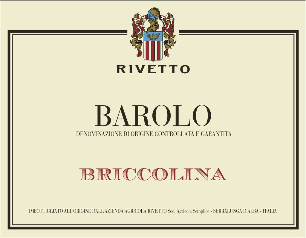 Rivetto Barolo Briccolina 2010