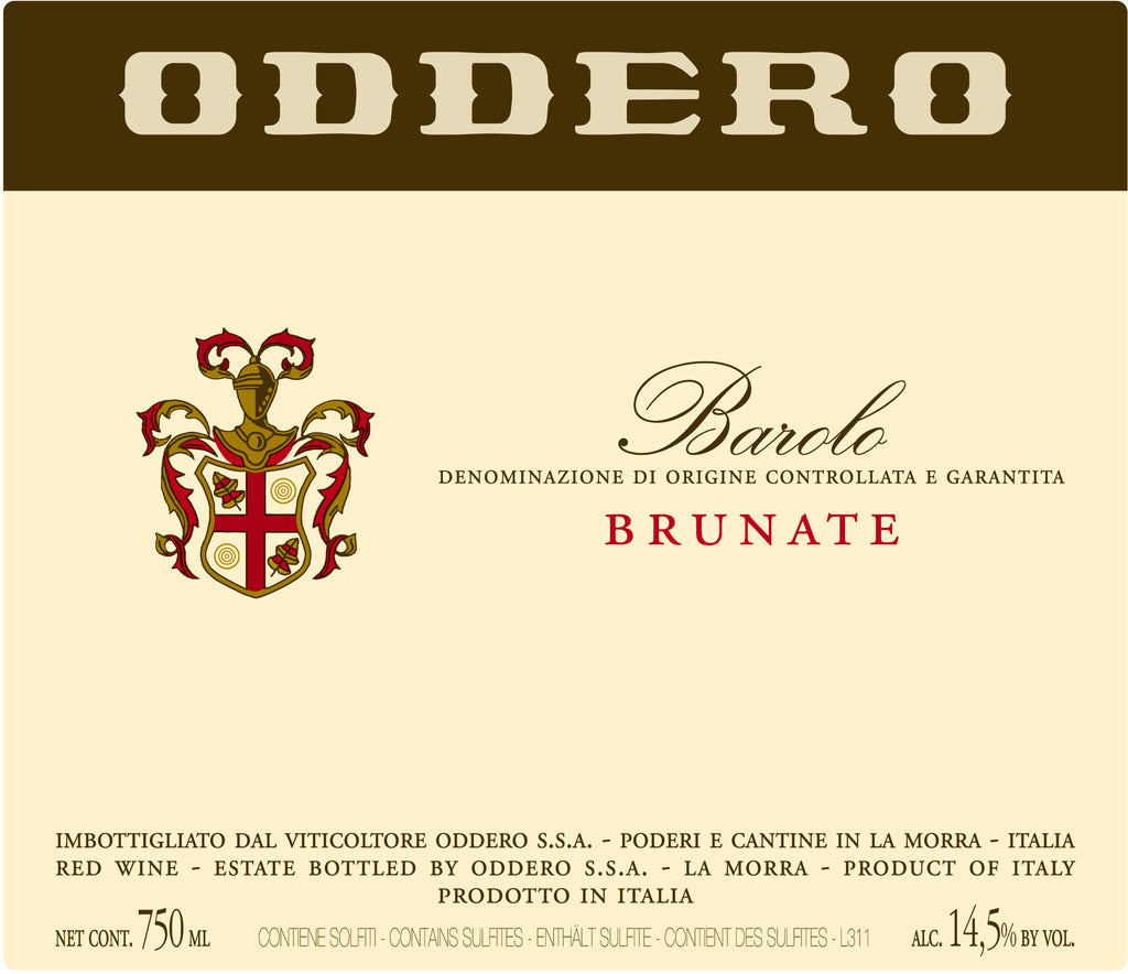 Oddero Barolo Brunate 2013