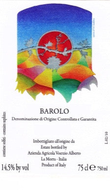 Alberto Voerzio Barolo 2012 - Only 1 bottles left!