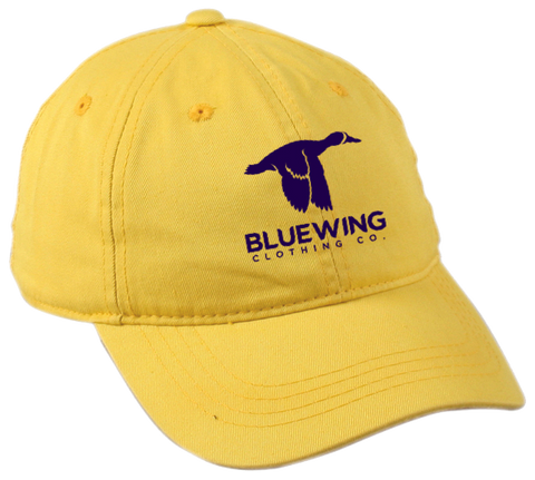 Blue Wing Classic Ball Cap BW Logo- Gold