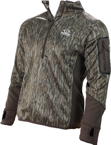 Waterfowl Smooth Fleece Pullover- NEW Mossy Oak Bottomland