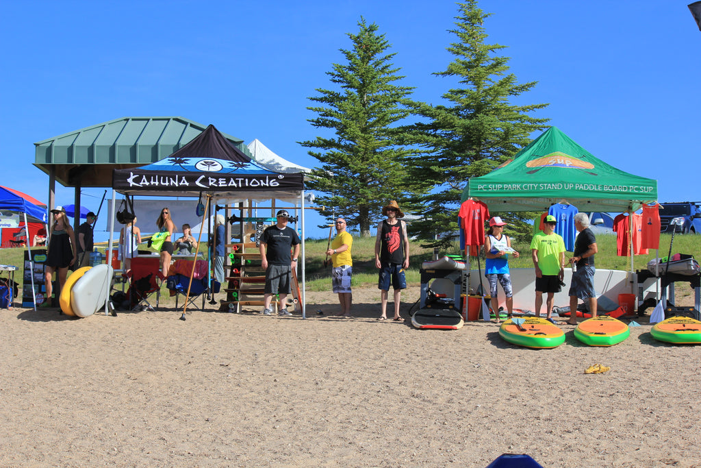 Park City SUP Land Paddle Competition
