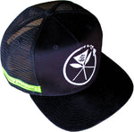 KC Black Snapback Hat