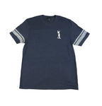 Land Paddle Life Game Tee Heathered True Navy - Men