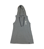 Land Paddle Life Tank Hoodie Shadow Grey Heather - Women