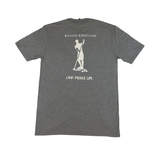 Land Paddle Life Tee Grey Frost - Men