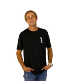 Land Paddle Life Tee Black Frost - Men